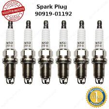 6 Pcs 90919-01192 Toyota 4Runner Tacoma V6 3.4L Spark Plug Set of 6 Genuine OEM