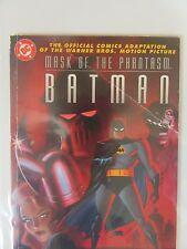Batman Mask of the Phantasm Digest Size Comic Book Adaptation 1993 Creased - DC