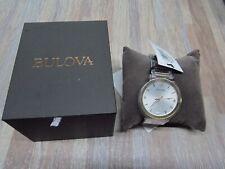 Bulova Futuro Men's Quartz Diamond Accent Calendar Date 42mm Watch 98D151