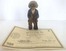 "New ListingAll God'S Children 5.75"" Uncle Bud Figurine W/ Coa & Box"