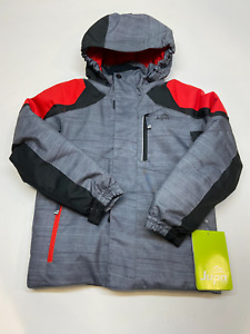 Jupa kid's zachary ski jacket grey