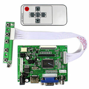 "HDM I VGA 2AV LCD Controller Board For 8"" AT080TN52 EJ080NA-05A EJ080NA-05B LCD"