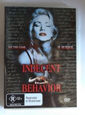 Indecent Behavior DVD 1993 Erotic Thriller Shannon Tweed Gary Hudson All Region