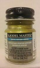 Testors Model Master Acrylic paint 4672, Brass.