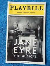 Jane Eyre - Brooks Atkinson Theatre Playbill - April 2001 - Marla Schaffel