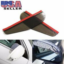 NEW JDM BLACK Universal Rear View Side Mirror Rain Board Sun Visor Shade Shield