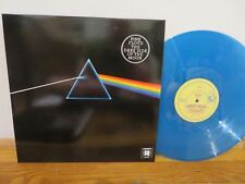 PINK FLOYD DARK SIDE OF THE MOON COSMIC BLUE SPARKLE COLOR VINYL LP MINT NICE