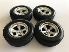SET OF 4 1:18 ERTL DODGE PLYMOUTH TORQUE THRUST WHEELS HTF !