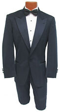 Men's 40R Navy Blue Christian Dior Tuxedo Jacket with Pants Damaged Discount