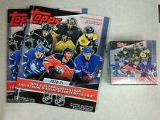 2020-21 Topps NHL Sticker 50 Pack Box + 2 Albums