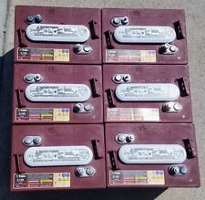 6 Pack, 36V - 6 Volt Golf Cart Batteries - Trojan Battery T-105 EzGo Club Car