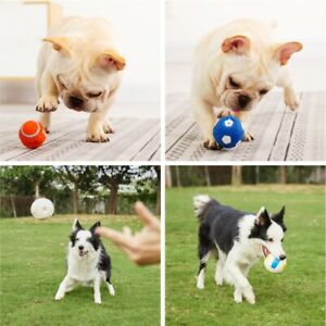 Dog toy latex rugby tennis dog bite sounding ball pet toy for dogs