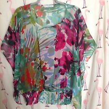 Women's Crew Neck Fitted Plus Size Tunic, Kaftan Tops & Shirts