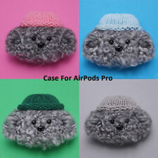 Cotton Knit Protector Headphone Bag Plush Case Cover For Apple AirPods Pro