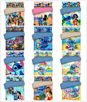 3D Disney Stitch Kids Duvet Cover Bedding Set Comforter/Quilt Cover Pillow Case