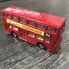 Tomica 1:130 London Bus Red Loose Vintage Made in Japan No.F15 Vernons