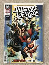 DC Justice League #1 New Justice Signed   Scott Snyder
