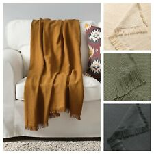 IKEA Throw Blanket Rug Snuggle Sofa Lounge Couch Bed Warm Cotton Soft Cover