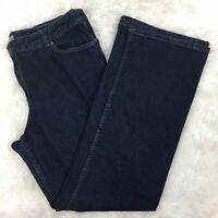 J.Jill Women's Dark Wash Bootcut Jeans Size Stretch 16