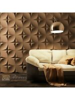 3D Decorative wall panels ABS Plastic molds Plaster Gypsum alabaster ZOOM