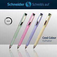 Schneider Füllhalter Füllfederhalter Füller Schulfüller Pastell
