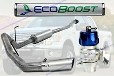 "MBRP 3"" Cat Back Exhaust & TurboSmart Blow Off Valve For '12.5*-14 Ford 3.5L"