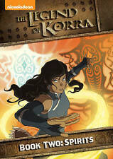 The Legend of Korra - Book Two: Spirits DVD