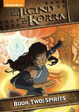 The Legend of Korra: Book Two - Spirits (DVD, 2014, 2-Disc Set)