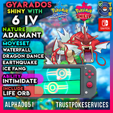 Gyarados Shiny Pokemon Sword and Shield  | Adamant | Life Orb | Fast Delivery