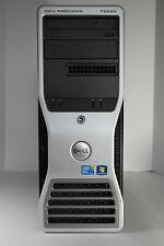 Dell Precision T3500 qc w3530 2.8ghz 4gb 300gb dvdrw raid nvidia 2000 win 7 dvi