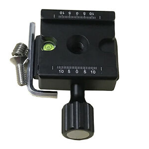 Quick Release Clamp For Manfrotto 405-38 14 410PL-14 38 fit Arca-Swiss 39mm