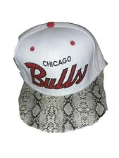 Mitchell & Ness Chicago Bulls snakeskin Snapback W/broken Strap