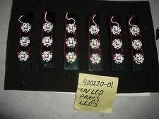 lot of 6 UV LEDs arrays on heat sinks, LED ENGIN 4 chip
