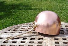 """Williams Sonoma Copper 6-1/2"""" Zabaglione Pot, Made in France"""