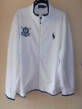 Genuine New With Mens Ralph Lauren  White Track Suit Jacket XXL rrp £175