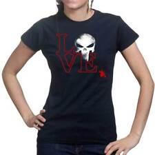 Hip Length Skull Regular Graphic T-Shirts for Women