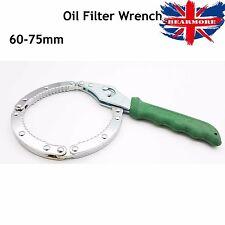Fácil ajuste/la eliminación de filtro de aceite Llave de Anillo 60-75 mm Herramienta de reparación ideal