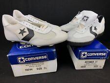 Vintage Converse Men's 9.5 Football Shoe Lot Of 2 KS-300 7 Stud Defender 21 NOS