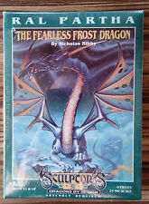 Rare OOP Ral Partha - Fearless Frost Dragon - Warhammer size