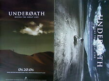UNDEROATH Define The Great Line PROMO Two Sided Poster SPENCER CHAMBERLAIN Rare!