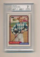 1992 Topps Stadium of Stars #8 Chris Mccarron BGS 7