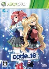 USED code_18 japan import Xbox 360