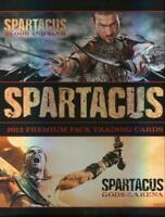 Spartacus 2012 Premium Pack Trading Card Collector Album