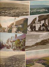Somerset PORLOCK x11 collection c1910/50s PPCs