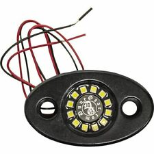 """White/Black Dune Gear Dome Light With 1 3/4"""" Roll Cage Mount"""