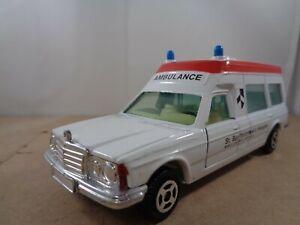 Corgi no.406 Mercedes Benz Bonna 2500 Ambulance.St.Bartholomews.Vintage Diecast