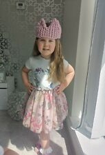 Hand Knitted Girls Crown