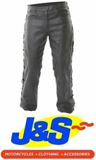 Frank Thomas Leather Motorcycle Trousers