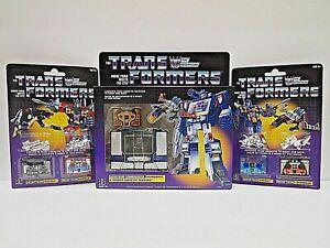 Transformers Walmart G1 Reissue - Soundwave, Frenzy, Rumble, Ravage & Laserbeak