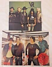 RARE Velvet Revolver & Army of Anyone Metal Edge Mag 2 Centerfold Poster Lot*
